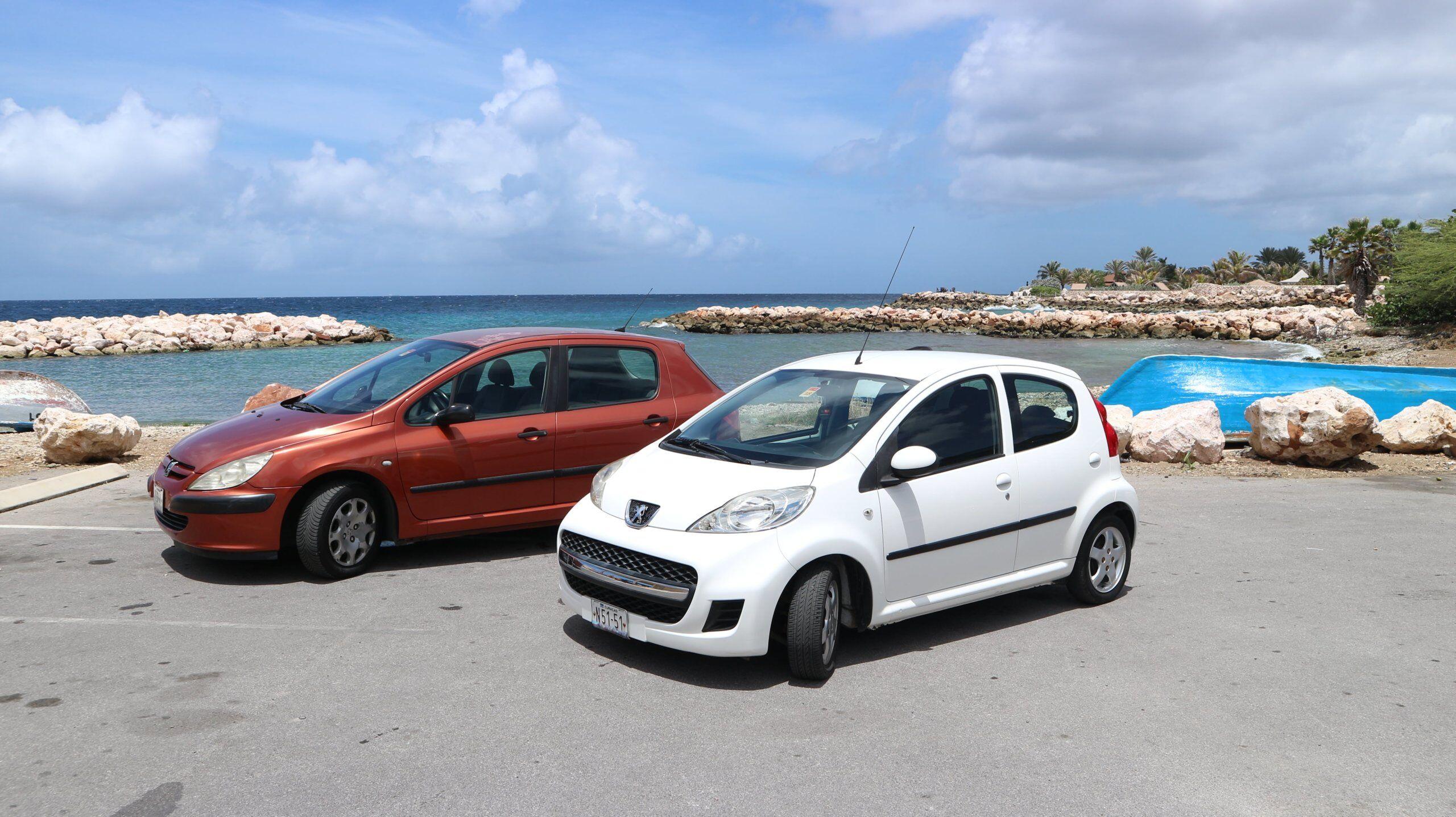 Stage auto huren op Curacao