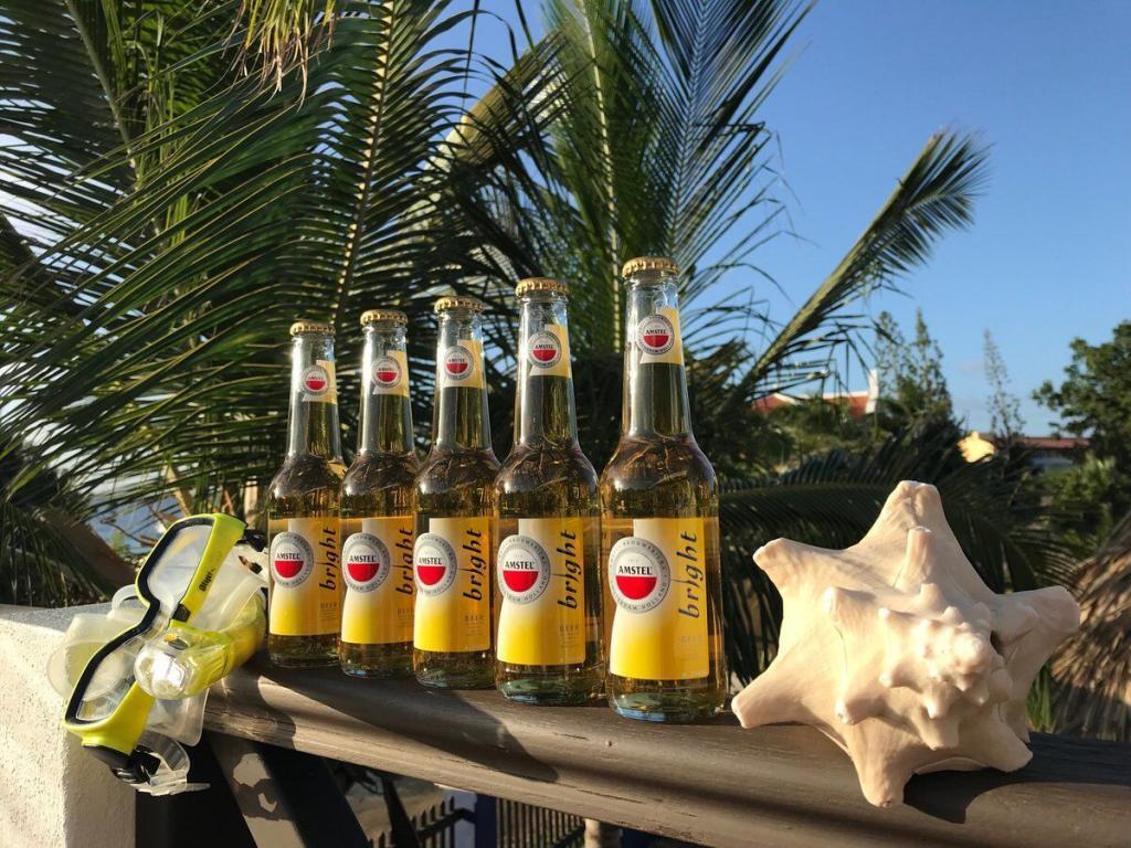 Amstel Bright bier